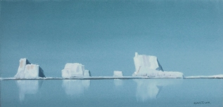 Majesty of the Tabular Icebergs